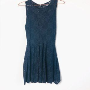 EUC For Love and Lemons Fit and Flare Lace Dress
